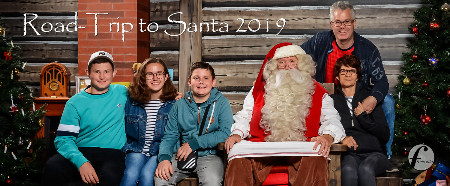 "freis aus St. Gallen ""Road-Trip To Santa 2019"""